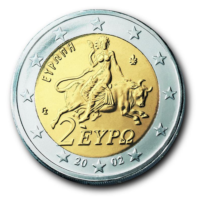 Die Euro Münzen Aus Griechenland Eu Infode