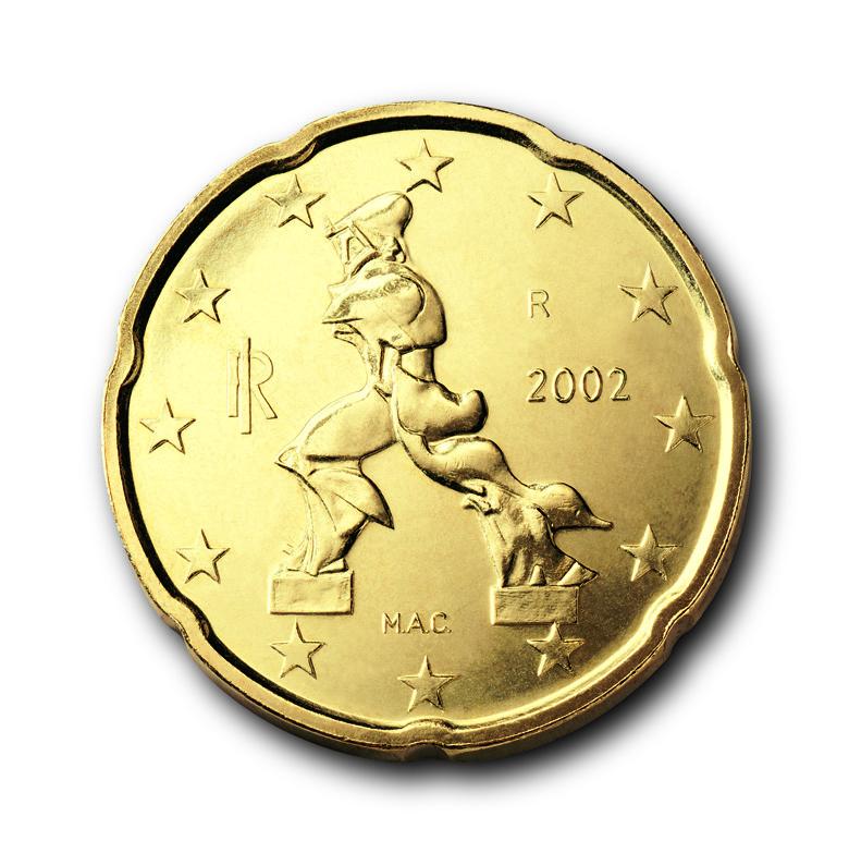Die Euro Münzen Aus Italien Eu Infode