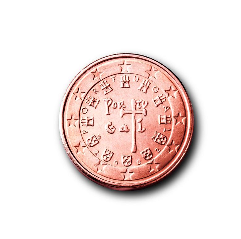 Die Euro Münzen Aus Portugal Eu Infode