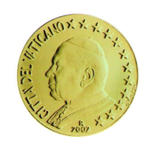 Euro Münzen Des Vatikan Eu Infode