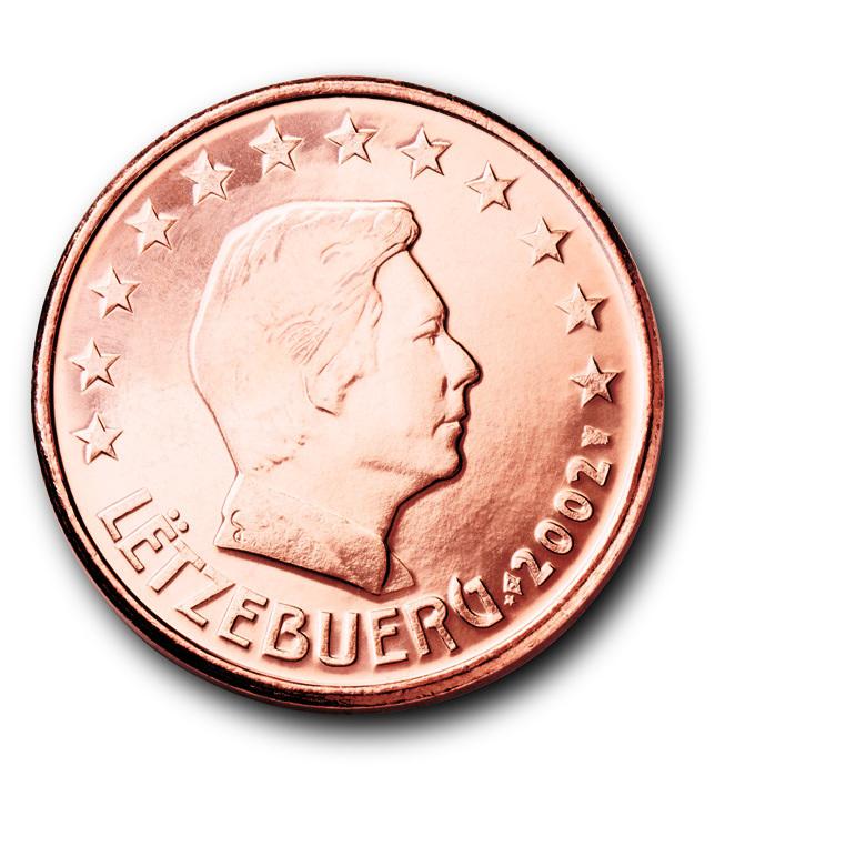 Die Euro Münzen Aus Luxemburg Eu Infode